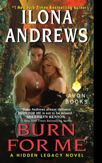 burn for me - ilona andrews