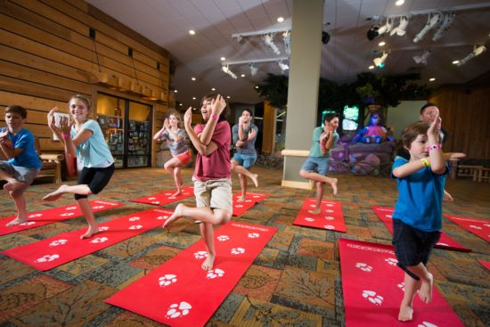 Yoga Tails - Great Wolf Lodge