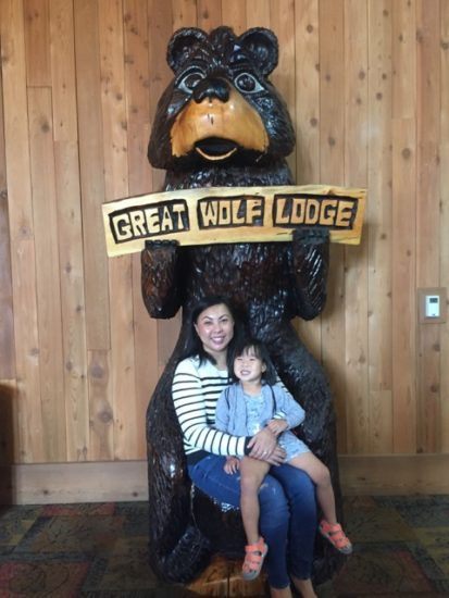 The Wooden Throne - Great Wolf Lodge