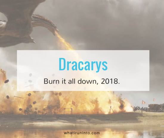 dracarys 2018 blog header