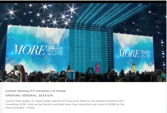 R+F Convention 2018 - General Session with Drs. Rodan and Fields