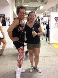 Richard Simmons and me! - Unique LA 2013