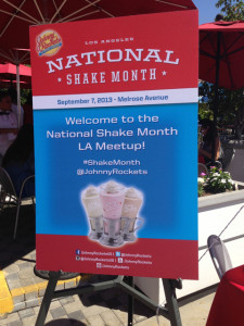 Johnny Rockets welcomes bloggers to #ShakeMonth