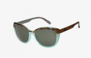 ICU Eyewear - Sun Collection - Cat-Eye Two-Tone in Tortoise/Aqua