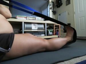 Hatfield Sit Strap - Foot stretch