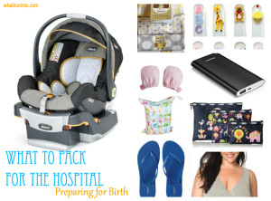 whattopackforthehospital_collage